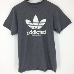 Adidas Shirts | Adidas Addicted San Francisco Gray T-Shirt | Color: Gray/White | Size: Xl