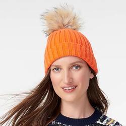 J. Crew Accessories | J. Crew Beanie Hat | Color: Orange | Size: Os