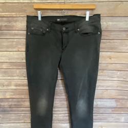 Levi's Jeans | Levis 524 Too Superlow Denim Jeans, Lowrise Denim | Color: Black/Gray | Size: 12