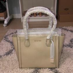 Michael Kors Bags | Michael Kors Tote Bag | Color: Tan | Size: Large Tote