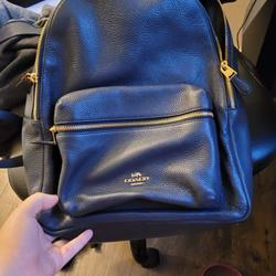 Coach Bags   Coach Backpack   Color: Blue   Size: Full Backpack