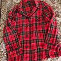 Ralph Lauren Intimates & Sleepwear | Ralph Lauren Plaid Pyjama Top | Color: Green/Red | Size: L