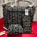 Kate Spade Bags | Kate Spade Diaper Bag, Wallet, & Make Up Bag. | Color: Black/White | Size: See Pictures