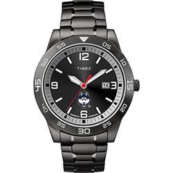 Timex UCONN Connecticut Huskies Men's Black Acclaim Watch