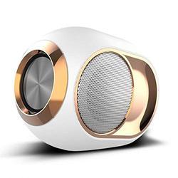 N\C Portable Bluetooth 5.0 Speaker Wireless Speaker Super Bass Music Stereo Speaker, HD Hands-Free Phone PC Waterproof Outdoor Speaker