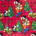 Disney Party Supplies | Disney Mickey Mouse & Friends 60 Sf Gift Wrap New | Color: Green/Red | Size: 60 S.F.