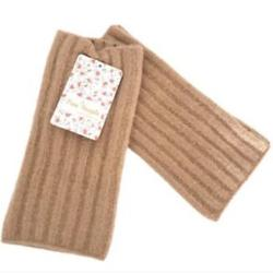 Free People Accessories | Free People Outside The Lines Arm Warmers | Color: Orange/Tan | Size: Os