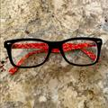 Ray-Ban Accessories | Cute Womens Ray-Ban Eyeglasses | Color: Black/Red | Size: Os