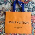 Louis Vuitton Other | Louis Vuitton Paper Shopping Bag | Color: Blue/Orange | Size: Os