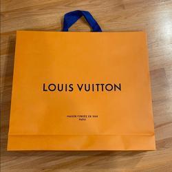 Louis Vuitton Other   Louis Vuitton Shopping Bag- 21 X 19   Color: Orange   Size: Os