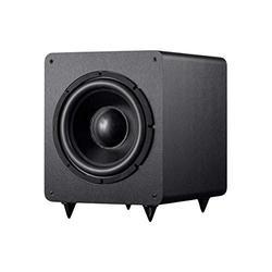 Monoprice SW-12 400 Watt RMS 600 Watt Peak Powered Subwoofer - 12in, Ported Design, Variable Phase Control, Variable Low Pass Filter, for Home Theater