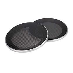 topseller-hzy 2Pcs Speaker Loudspeaker Protective Cover Speaker Decoration Accessories (4inch)