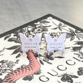 Gucci Jewelry   Gucci Butterfly Earrings   Color: Silver   Size: Os