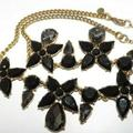 J. Crew Jewelry | J Crew Necklace Gold Tone Rhinestone Necklace | Color: Gold | Size: Os