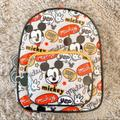 Disney Bags | Hey Mickey Mouse Comic Disney Mini Backpack | Color: Gray/Red | Size: Os