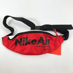 Nike Bags | Nike Air Nsw Heritage Unisex Hip Pack Waist Pack | Color: Black/Red | Size: Os