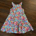 Ralph Lauren Dresses   Ralph Lauren Girls Flower Summer Dress   Color: Blue/Pink   Size: 4tg