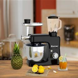 City Elves 6 Speed 6.6 Qt. Stand Mixer in Black, Size 23.0 H x 13.5 W x 7.5 D in   Wayfair 41675093A