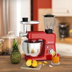 City Elves 6 Speed 6.6 Qt. Stand Mixer in Red, Size 23.0 H x 13.5 W x 7.5 D in | Wayfair 41675093B
