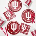 Creative Converting Indiana University Party Supplies Kit for 8 GuestsPaper/Plastic in Red   Wayfair DTC4924C2D