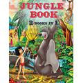 The Jungle Book - 2 Books in 1 - Coloring Book: : This Coloring Book for Kids Includes Jungle Animals Forest. Children Activity Books for Kids Ages 2-4, 4-8, Fun Early Learning. (100 Coloring Pages)