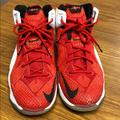 Nike Shoes | Boys Lebron James Basketball Shoes | Color: Red/White | Size: 6.5bb