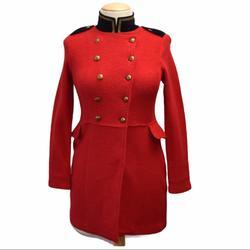 Ralph Lauren Jackets & Coats | Lauren Jeans Co. Military Style Sweater Jacket | Color: Red | Size: Lp