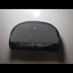 Nike Bags | Nike Men Black & Olive Green Travelaccessory Bag | Color: Black/Green | Size: Os