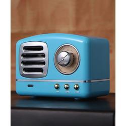 Epic Deals Wireless Speakers Blue - Blue Retro Wireless Bluetooth Speaker