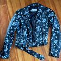 Michael Kors Jackets & Coats | Michael Kors Motorcycle Jacket. | Color: Black | Size: Xs