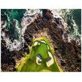 California Golf Course in Pebble Beach-Adult Large-Scale 5D Diamond Art kit, Painting Cross-Stitch kit, Full-Drill Home Wall Crystal Rhinestone Embroidery Picture Home Wall Decoration Art Crafts