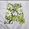J. Crew Skirts   Jcrew Green & Navy Floral Print A-Line Ski   Color: Blue/Green   Size: 6