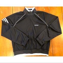 Adidas Other | Adidas Track Suit Blacklight Blue Medium | Color: Black/Blue | Size: Medium
