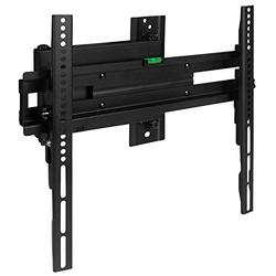 """Flash Furniture FLASH MOUNT Full Motion TV Wall Mount - Built-In Level - Max VESA Size 400 x 400mm - Fits most TV's 32"""" - 55"""" (Weight Cap 55LB)"""