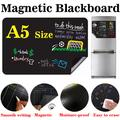 Mini tableau noir magnétique de taille A5, tableau noir autocollant pour dessin, Message, écriture,