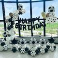 Ballon de sport 18 pouces pour adultes, thème de Football, décoration de Festival, fête