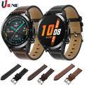 Bracelet en cuir pour montre Huawei GT GT2, 46mm/ gt 2e/Honor Magic 2 46mm, Bracelet de 22mm pour
