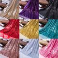 1 pièce largeur 1.3m Sequin tissu brillant Rose or argent paillettes tissu pour vêtements scène fête