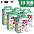 Fujifilm – Film blanc pour appareil Photo instantané Instax Mini 9, 10 20 40 60 100