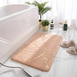 Tapis de bain antidérapants Super absorbant douche salle de bain tapis doux toilette sol Faux lapin