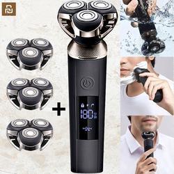 Xiaomi – rasoir électrique fom pour hommes, tondeuse à barbe humide et sèche, rasoir étanche à
