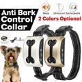 Collier de contrôle anti-aboiement, accessoire rechargeable, pour chien de compagnie,