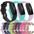 Bracelets de rechange en Silicone pour Fitbit, pour montre intelligente, boucle de Bracelet,