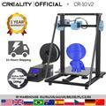 CREALITY – imprimante 3D V2 améliorée, taille 300x300x400mm, carte mère silencieuse, reprise
