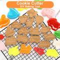 Moule à biscuits en forme de dessin animé 3D, mignon, pour pâtisserie, pâtisserie, outils de