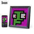 Divoom Pixoo – cadre Photo numérique, réveil avec Pixel Art, décor de signe de lumière néon, cadeau