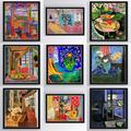 Affiche sur toile imprimée Vintage henry Matisse, peinture murale, Art, décoration de la maison