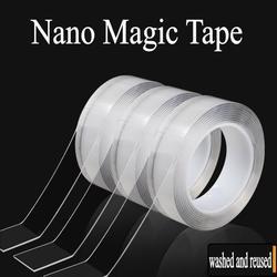 Magic Nano – bande adhésive transparente, Double face, peut être lavé, Gel antidérapant, forte