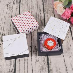Boîte à savon faite à la main avec fleurs, emballage cadeau pour chocolat, dragées, fête de mariage,