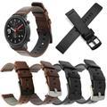 Bracelet en cuir pour montre, pour GTR 42 47mm, pour Xiaomi Huami Amazfit PACE/Stratos 3 2S, pour